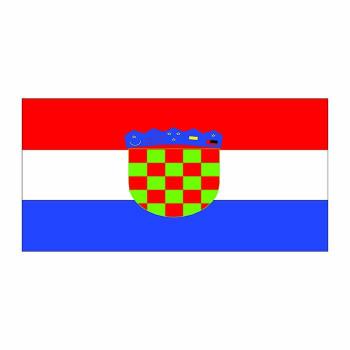 Croatia Flag Cardboard Cutout - $0.00