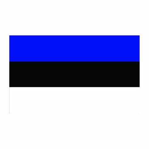 Estonia Flag Cardboard Cutout