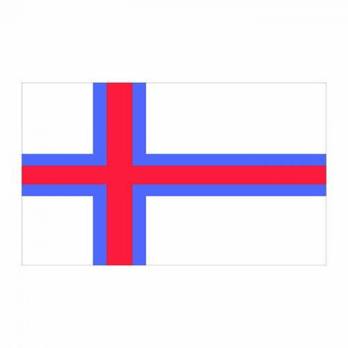 Faroe Islands Flag Cardboard Cutout