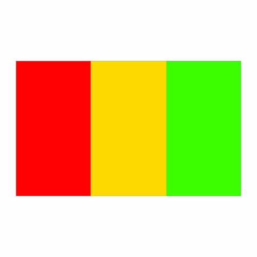 Guines Flag Cardboard Cutout