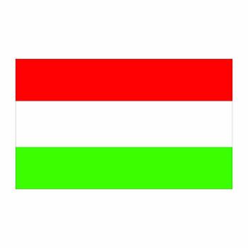 Hungary Flag Cardboard Cutout - $0.00