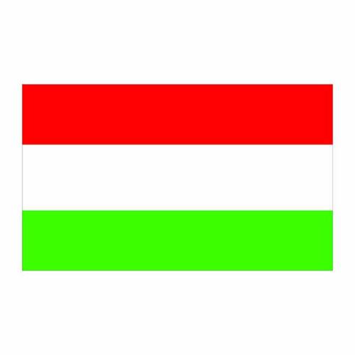 Hungary Flag Cardboard Cutout