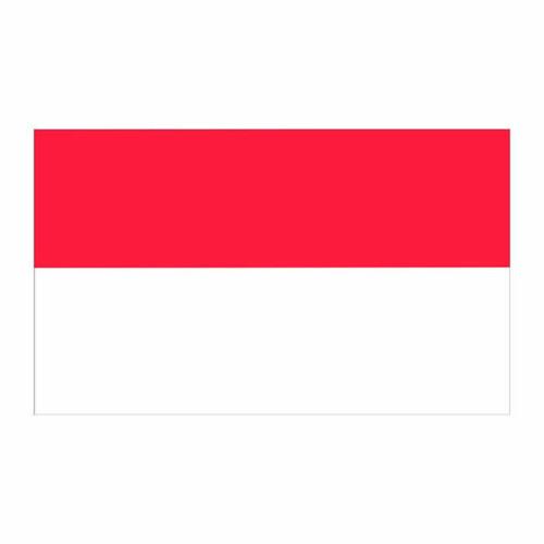 Indonesia Flag Cardboard Cutout