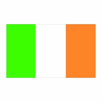 Ireland Flag Cardboard Cutout