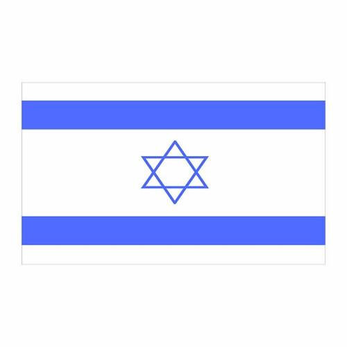 Israel Flag Cardboard Cutout