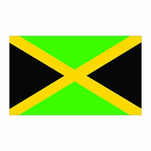 Jamaica Flag Cardboard Cutout