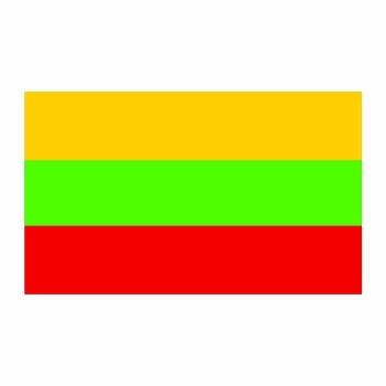 Lithuania Flag Cardboard Cutout - $0.00