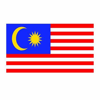 Malaysia Flag Cardboard Cutout - $0.00