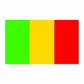 Mali Flag Cardboard Cutout - $0.00