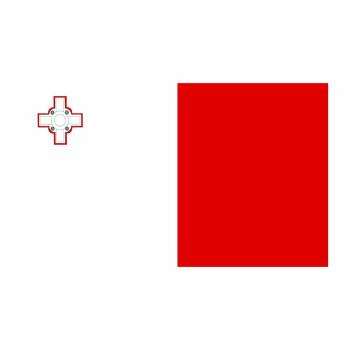 Malta Flag Cardboard Cutout - $0.00