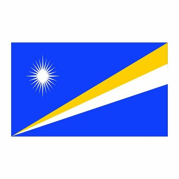 Marshall Islands Flag Cardboard Cutout - $0.00