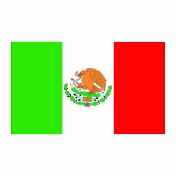 Mexico Flag Cardboard Cutout - $0.00