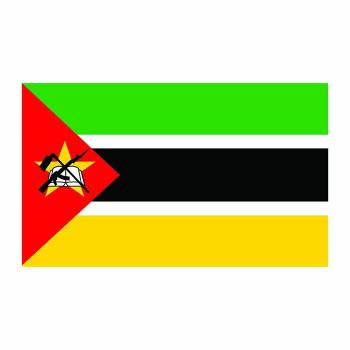 Mozambique Flag Cardboard Cutout - $0.00