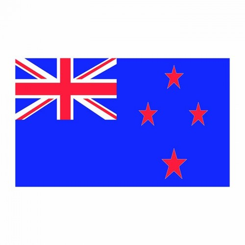 New Zealand Flag Cardboard Cutout