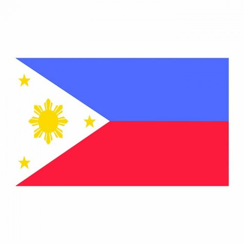 Philippines Flag Cardboard Cutout