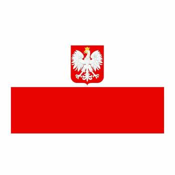 Poland Flag Cardboard Cutout - $0.00