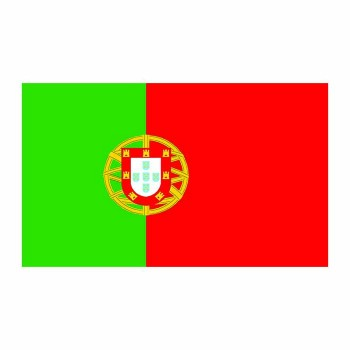 Portugal Flag Cardboard Cutout