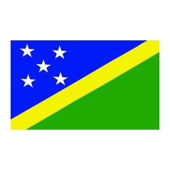 Solomon Islands Flag Cardboard Cutout - $0.00