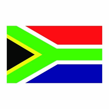 South Africa Flag Cardboard Cutout