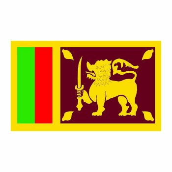 Sri Lanka Flag Cardboard Cutout - $0.00