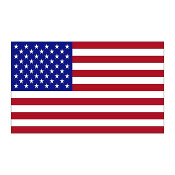 United States Flag Cardboard Cutout
