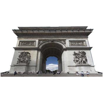 Arch De Triumph Cardboard Cutout - $0.00