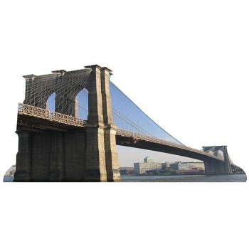 Brooklyn Bridge Cardboard Cutout - $0.00
