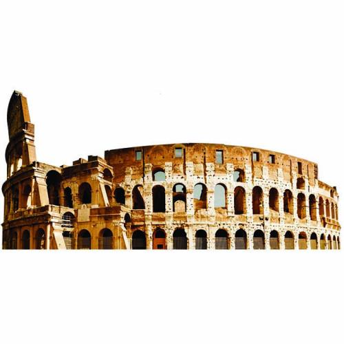 Colosseum Cardboard Cutout