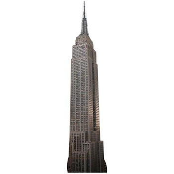 Empire State Building Cardboard Cutout - $0.00