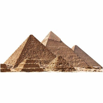 Great Pyramids Cardboard Cutout - $0.00