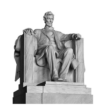 Lincoln Monument Cardboard Cutout - $0.00