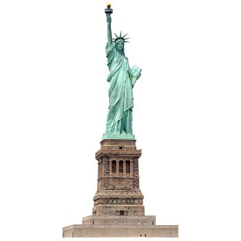 Statue of Liberty Cardboard Cutout - $0.00