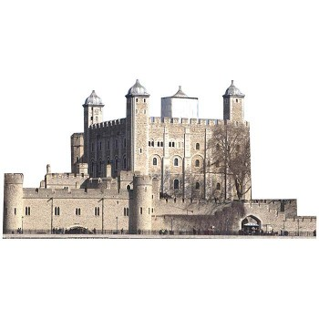 Tower of London Cardboard Cutout - $0.00