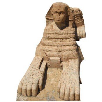 Great Sphinx of Giza Cardboard Cutout - $0.00