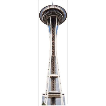 Space Needle Cardboard Cutout - $0.00