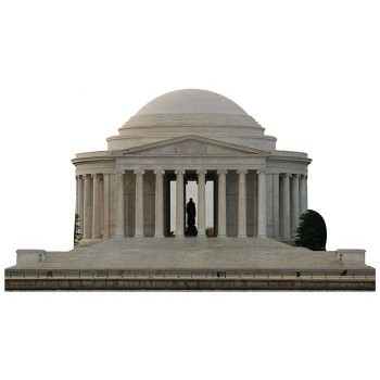 Jefferson Memorial Cardboard Cutout - $0.00