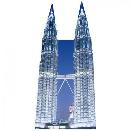Petronas Towers Cardboard Cutout