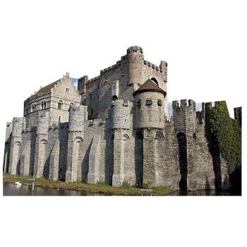 Gravensteen Castle Cardboard Cutout - $0.00