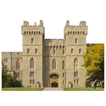 Windsor Castle Cardboard Cutout - $0.00