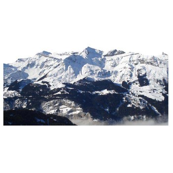Swiss Alps Mountain Mountains Range Cardboard Cutout - $0.00