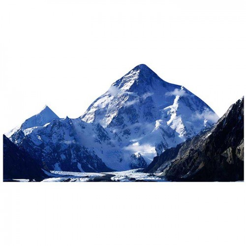 K 2 Mountain Cardboard Cutout