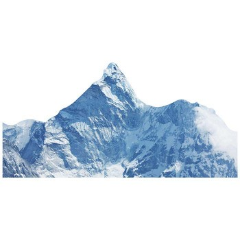 Himalayas Mountains Nepal Cardboard Cutout - $0.00