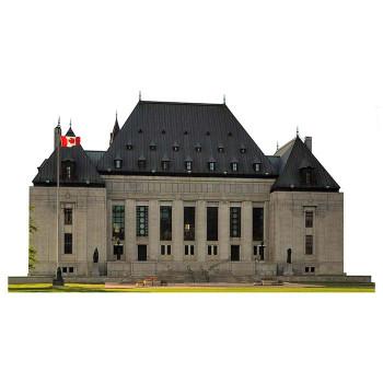 Supreme Court Canada Cardboard Cutout - $0.00