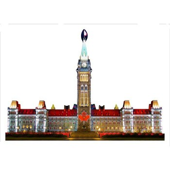 Parlaiment Hill at Night Cardboard Cutout - $0.00