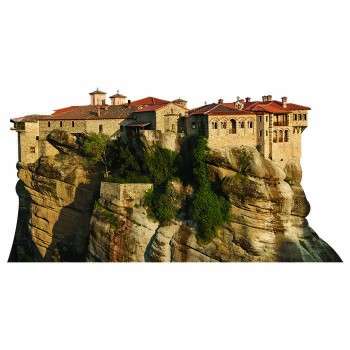 Monasteries of Meteora Cardboard Cutout - $0.00