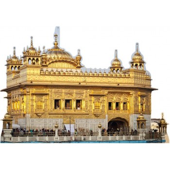 Golden Temple in Amritsar Cardboard Cutout - $0.00
