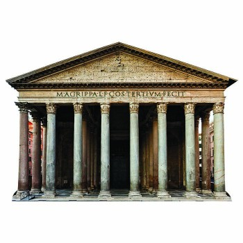 Rome Pantheon Cardboard Cutout - $0.00