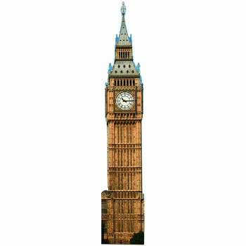 Big Ben Day Cardboard Cutout - $0.00