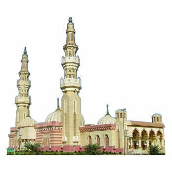 Al Aysa Mosque Cardboard Cutout - $0.00