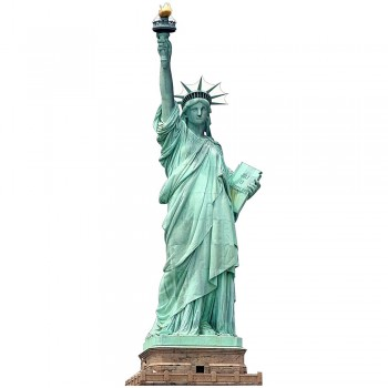 Statue of Liberty NO BASE Cardboard Cutout - $0.00